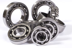 Bearings. A lot of different bearings Stock Images