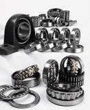 Bearings. Have the important role in modern manufacture stock image