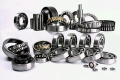 Bearings. Have the important role in modern manufacture stock photo