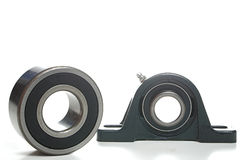 Bearings. Standard mechanical bearings used in various types of machinery royalty free stock photography