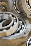 Bearings. Close up of industrial bearing Stock Photography