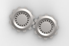 Bearings connection Royalty Free Stock Images