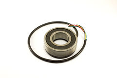 Bearings sensor isolated Royalty Free Stock Photo
