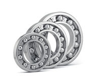 Bearings set production  on white Royalty Free Stock Photography
