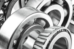 Bearings with shallow depth of field Stock Photo