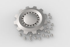Bearings and sphere leads Stock Images