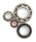 Bearings tool on white Stock Image