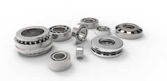 Bearings for various applications Stock Photography