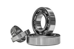 Bearings on a white background Stock Photos