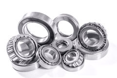Bearings on a white background Royalty Free Stock Photos
