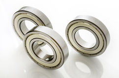 Bearings on white Royalty Free Stock Images