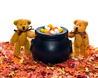 Bears with Cauldron Stock Photography