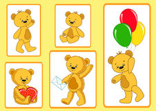 Bears collection. Royalty Free Stock Images