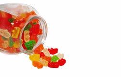 Bears in the jar. Royalty Free Stock Photos