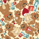Bears Pattern Royalty Free Stock Photography