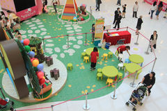 Bears' school Easter decoration and workshop in Hong Kong Stock Photography