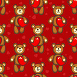 Bears seamless pattern Stock Images