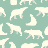 Bears seamless pattern Royalty Free Stock Images