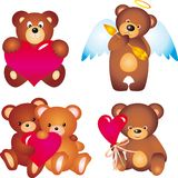 Bears. Vector collection Royalty Free Stock Image