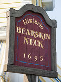 Bearskin Neck Welcome Sign Royalty Free Stock Image