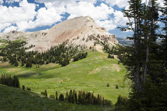 Beartooth Butte. Viewed from Clay Butte Fire Lookout Stock Image