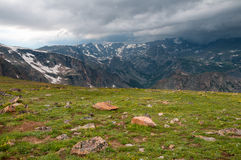 Beartooth Highway Scenery Royalty Free Stock Photos