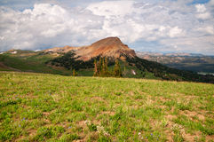 Beartooth Highway Scenery Royalty Free Stock Photo