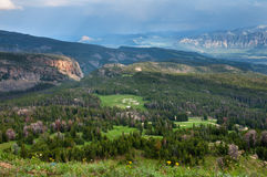 Beartooth Highway Scenery Royalty Free Stock Image