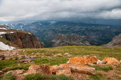 Beartooth Highway Scenery Stock Images