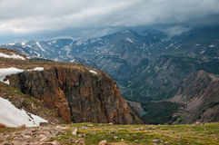 Beartooth Highway Scenery Royalty Free Stock Photography
