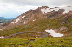Beartooth Highway Scenery Stock Photos