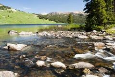beartooth jezioro fotografia stock