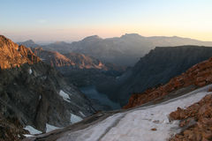 Beartooth Mountains Royalty Free Stock Images