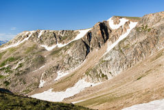Beartooth Pass. View of Beartooth Pass from the Beartooth Highway Royalty Free Stock Photography
