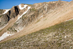 Beartooth Pass. View along the Beartooth Highway Stock Images