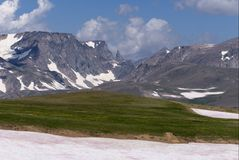 The Beartooth Peak stock images