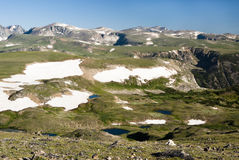 Beartooth Plateau Royalty Free Stock Photography