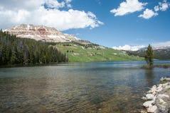 Beartoothmeer, Wyoming, de V.S. stock afbeeldingen