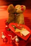 Beary muito no amor Foto de Stock Royalty Free