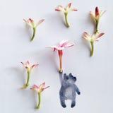 Beary poppins Στοκ Φωτογραφίες