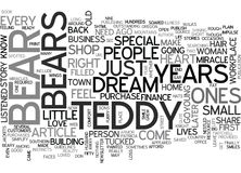 A Beary Special Miracle Word Cloud. A BEARY SPECIAL MIRACLE TEXT WORD CLOUD CONCEPT royalty free illustration