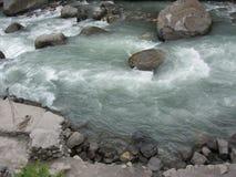 Beas河水流量 免版税库存图片