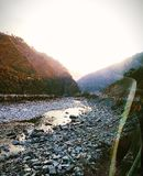 Beas-Fluss-Ansicht lizenzfreies stockbild