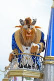 The beast. From beauty and  in the disney parade Stock Images
