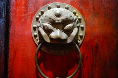 The beast Head Knocker Royalty Free Stock Photo