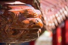 Beast temple sculpture Stock Image