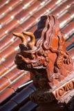 Beast temple sculpture Stock Photos