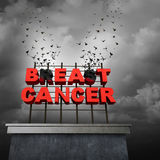 Beat Cancer Concept Stock Photography