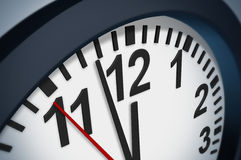 Beat the clock Stock Photography