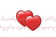 Beat heart Royalty Free Stock Photography